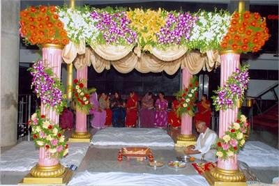Vidhi Mandap Decoration