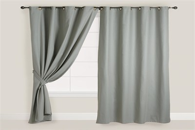 Curtain and Pipes