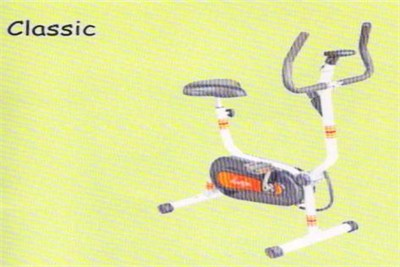 Classic Exercise Bike And Cycle