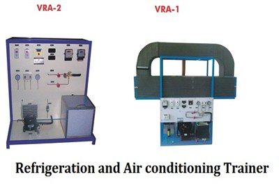 Refrigeration and Air conditioning Trainer