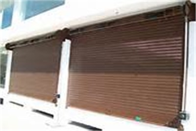 Rolling Shutter With Gear