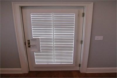 Single Shutter Doors with Window
