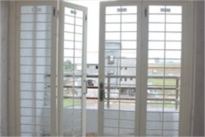Four Shutter French Door