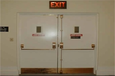 Double Leaf Fire Door