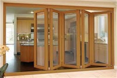 Reverse Foldable Doors