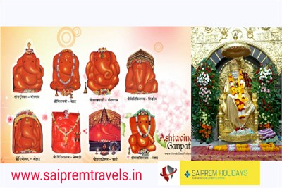 Tour Ashtavinayak Panch Jyotirlinga From Pune