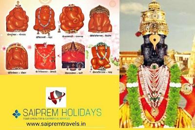 Ashtavinayak Pandharpur Shirdi Panch Jyotirlinga 3 and Half Shaktipeeth Tour from Pune 10 Night 11 D