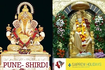 Pune Local Sightseeing with Shirdi 1 Night 2 Days