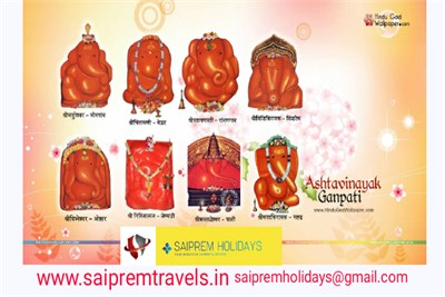 Ashtavinayak Darshan Tour Package (1 Night 2 Days)
