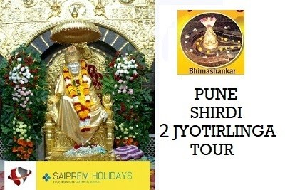 2N/3D - Shirdi  and Nashik Tour