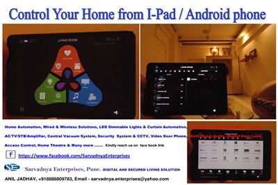 Home Automation Control iPad and Android