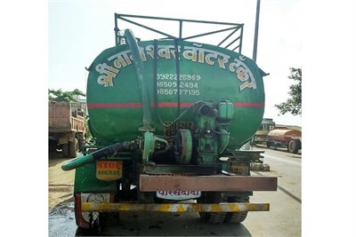 Water Tanker for Industrial