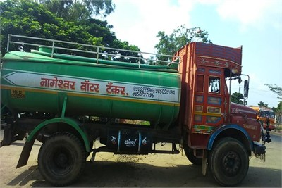 Tanker Truck Water Supplier