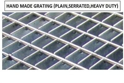 Handmade Grating Fabrication Service