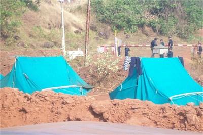 Labour Tents