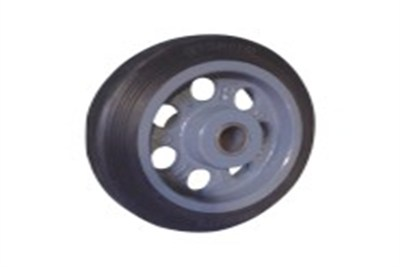 Bonded Rubber Tire Wheels