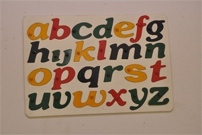 Alphabet Puzzle Tray Small Letters