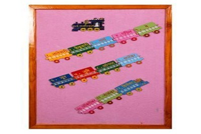 Weeks And Month Puzzle Train On Finalboard