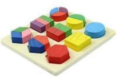 Geometrical Shapes Fraction Tray