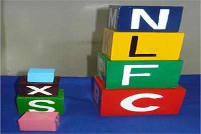 Alphabet 3D Tower Boxes