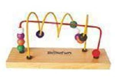 Beads Shuttle Spiral Straight Line Toy