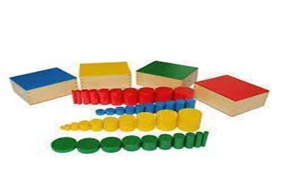 Wooden Sizes Cylinders Toys