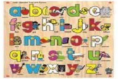 Alphabet Cut Out