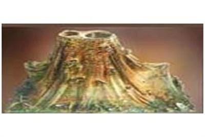 Volcano Wooden Model