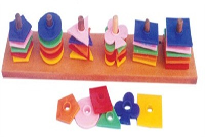 Different Shapes Wooden Models