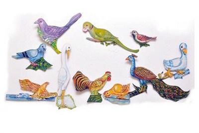 Wall Hanging Cutouts Birds Animals