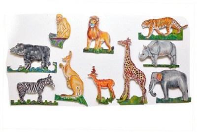 Wall Hanging Cutouts Wild Animals
