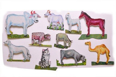 Wall Hanging Durable Cutouts Set Of 10 Pictures Big