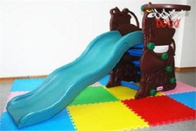 Baby Slide with Basketball