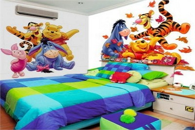 Kids Bedroom Wall Decoration Service