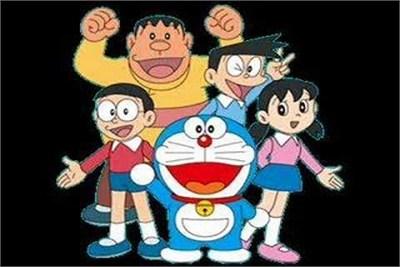 Doraemon Theme Wall Painting Service