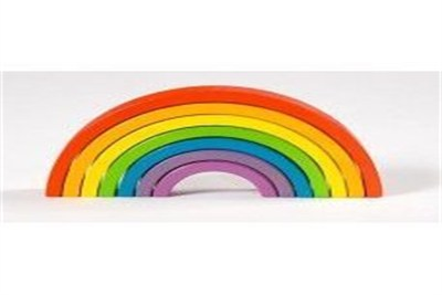 Rainbow Wooden Puzzle