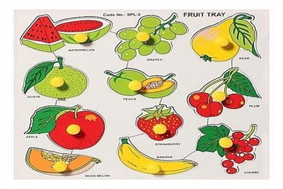 Fruits Puzzle Tray Pictures