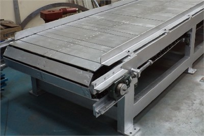 Slat Conveyor For Material Handling
