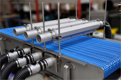 Conveyor With Drying System