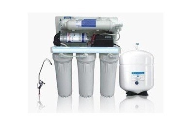 50 LPH Commercial RO with pressure tank