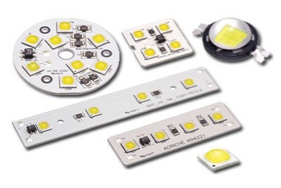 LED mounting and Paste soldering