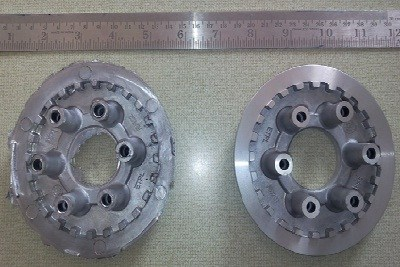 Wheel Clutch 3W4S Finish With Drill and Tapping