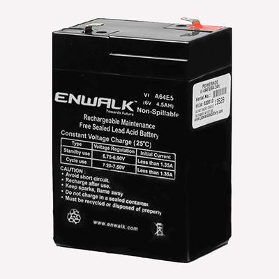 6V 4.5Ah Lead Acid Battery