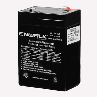 6V 4.5Ah Lead Acid Battery