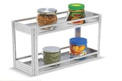 Two Shelf Pull-out