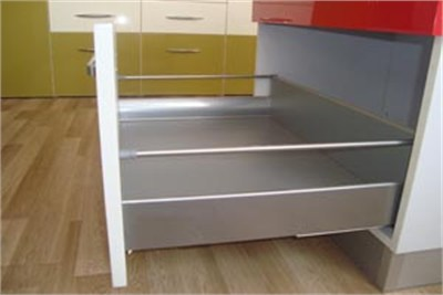Soft Close Drawer with Railing