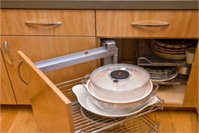 Pull Out Kitchen Shelf
