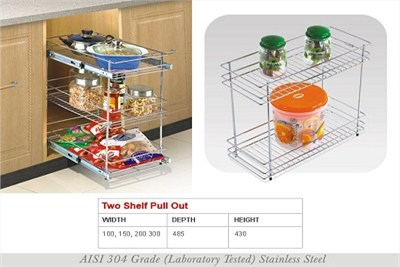 Two Shelf Pull Out