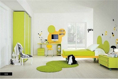 Interesting Colourful Kids Room