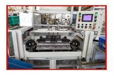 Semi-Automatic Intercooler Core Assembly